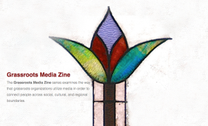 Grassroots Media Zine websiteはこちら