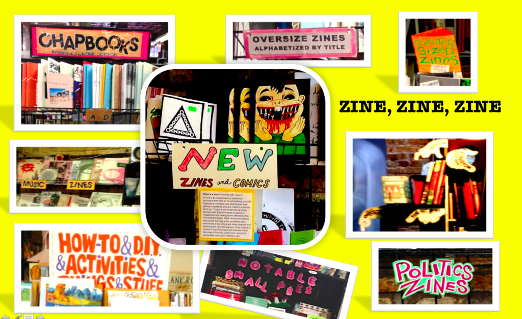 Unusual Publication, Aberrant periodicals, Saucy comic booklet,Assorted Fancies, puls TONS OF ZINES!@Quimby's, Aug.7, 2016