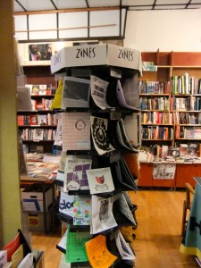 ZINES@Housman Bookshop, London, July, 2011