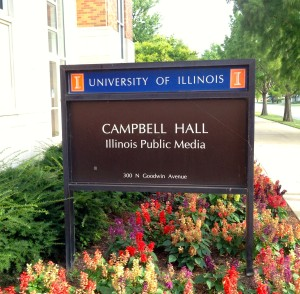 Illinois Public Media, University of Illinois@Urbana, IL, August2, 2015