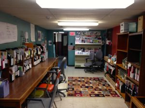 Zine Library @UCIMC, Urbana, August 2016