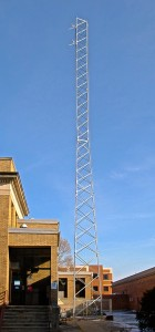 100feet Tower of the WRFU-LP@UC-IMC, December 2012
