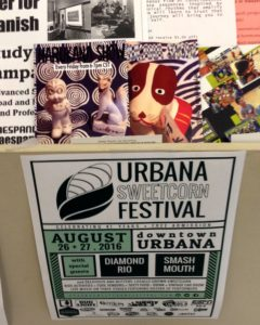 Urbana-Sweet Corn Festival@downtown Urbana, Aug.26-27(上はHarukana Showの新しいフライヤー)
