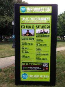 Taste of Champaign-Urbana@West Side Park, Champaign, Aug.19-20, 2016