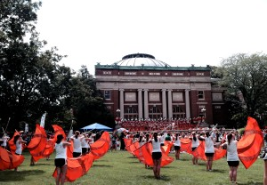 Quad Day@Illinois University, August24, 2014