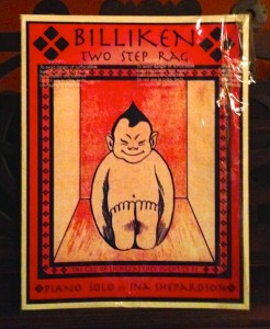 BILLIKEN Two Sept Rag, Piano Solo by INA Shepardson