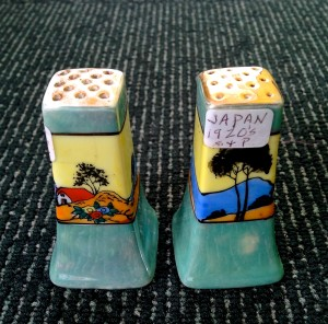 "1920s Salt &Pepper ""Japan"" from Antique Shop@Champaign"
