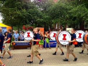 Quad Day@University of Illinois, August23, 2015