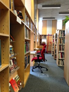 Stuart Hall Library @ Rivington Place,Sept.11, 2015