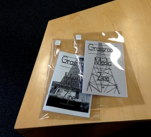 Grassroots Media Zine#1&2@Stuart Hall Library, Sept.11, 2015