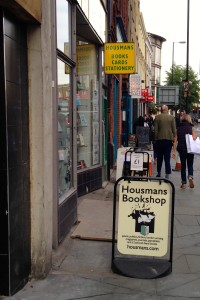 Housmans Bookshop @ London, Sept.11, 2015