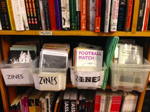 Zines@Housmans Bookshop @ London, Sept.11, 2015
