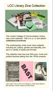 LCC Library Zine Collection pdf (1) from website of art.ac.uk