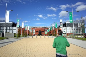 """Welcome to Celtic Park""@Glasgow, Scotland"