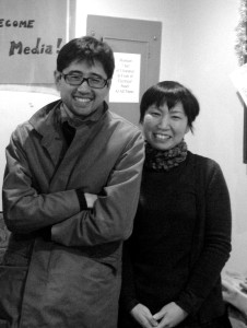 Yohei-san&Asami-san@WRFU Studio, Urbana, March20, 2015